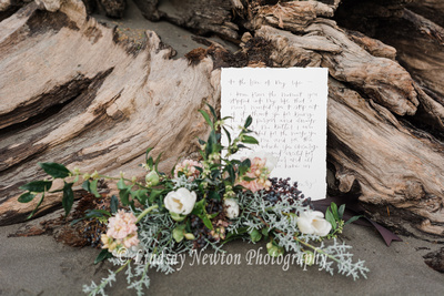 engagement session love poem and menus from Everglow Handmade
