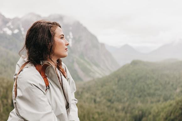 Mount Rainier Bridal Portrait