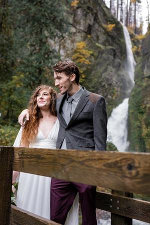 Styled Elopement at Wahclella Falls