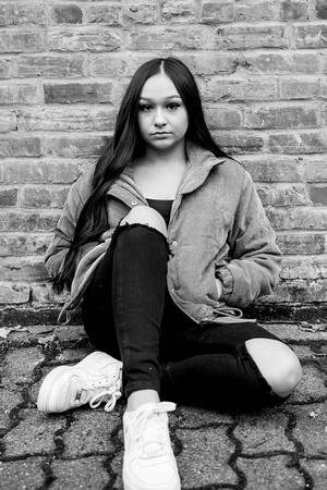 Urban High School Senior Girl Photo