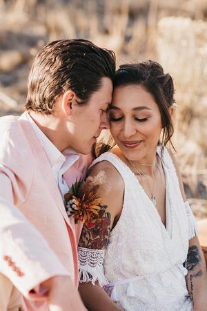 Boho wedding in Central Oregon