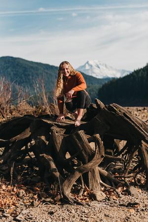 High school senior adventure portraits